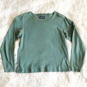 Patagonia Small Olive Long Sleeve Shirt